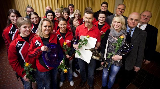 Bild der Sportlerwahl des Jahres 2010 vom Harz Kurier